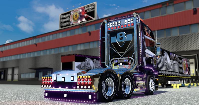 Screenshots Scania Project Scs Software