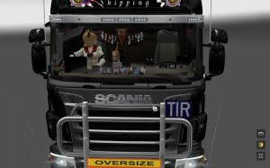 ETS2 Scania R and Streamline Interior Accessories