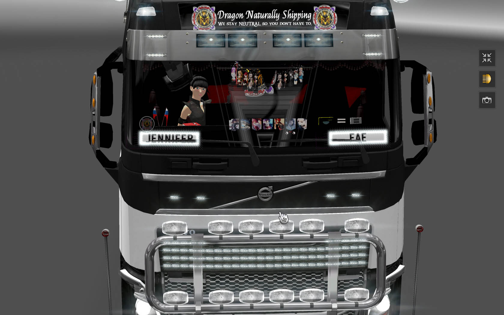 ETS2 Volvo FH 2013 Interior Accessories